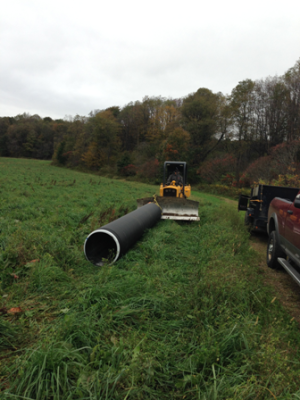 new culvert for Madison trail - S18